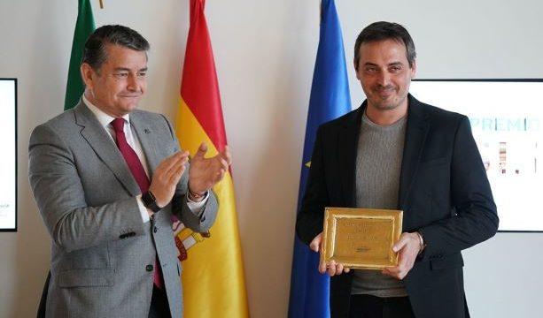 El onubense Ígor R. Iglesias recoge el Premio Tesis Doctoral de Andalucía