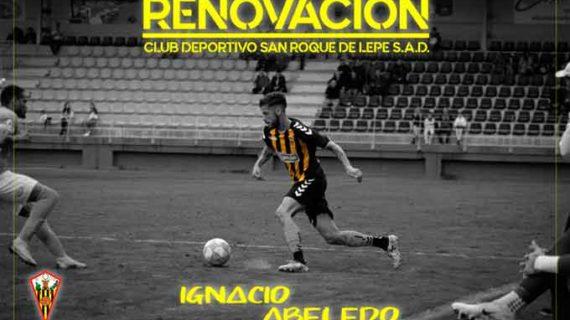 El San Roque de Lepe anuncia la renovación de Abeledo para la próxima temporada