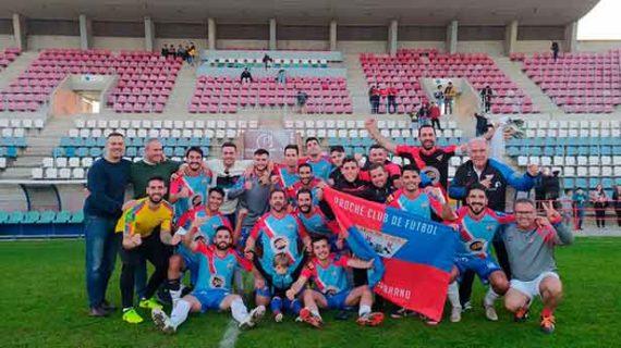 Domingo triunfal para el Aroche, La Palma y el Atlético Onubense en la División de Honor Andaluza