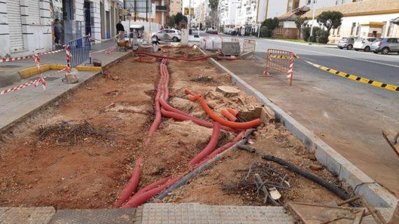 Ejecutadas en Huelva durante enero 56 obras como parte de una nueva campaña de mantenimiento