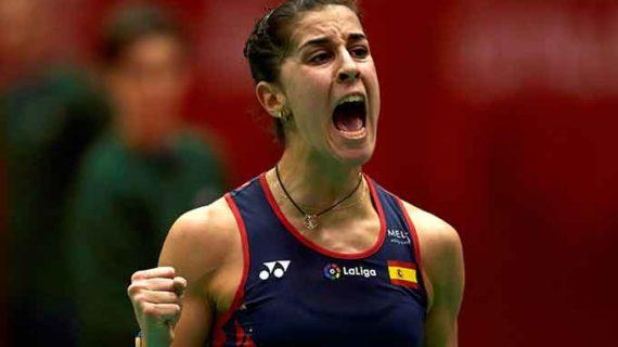 Carolina Marín se ajusta al guión al vencer a Katethong y accede a la final del Barcelona Spain Masters