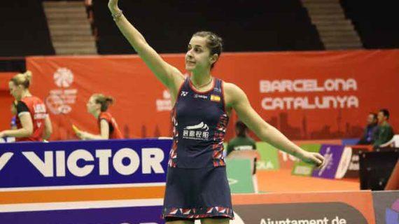 Una Carolina Marín muy firme vence a Chaiwan y accede a las semifinales del Barcelona Spain Masters