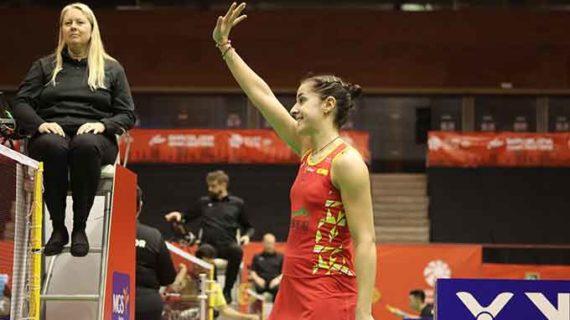 Carolina Marín ya está en los cuartos de final del Master de España tras superar a la holandesa Soraya de Visch Eijbergen