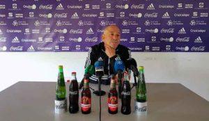 Claudio Barragán sólo piensa en ganar el domingo al Marbella para alejarse de la zona baja.