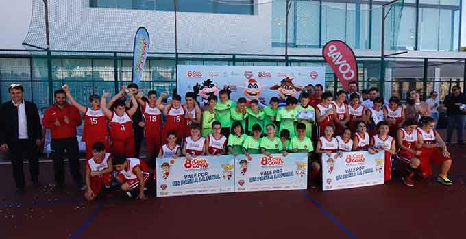 Los campeones de la fase provincial de Huelva de la Copa COVAP, celebrada en La Palma del Condado.