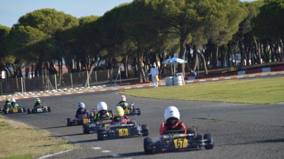 Andalucía compite por vigésimo cuarto año consecutivo en Karting Cartaya