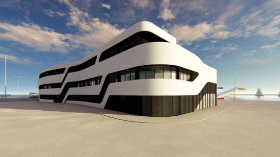Adjudicada la construcción de un edificio multifuncional en el Muelle Sur del Puerto de Huelva