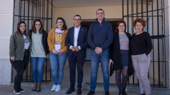 Caraballo visita Beas, El Campillo y Zalamea la Real para conocer las demandas y proyectos municipales