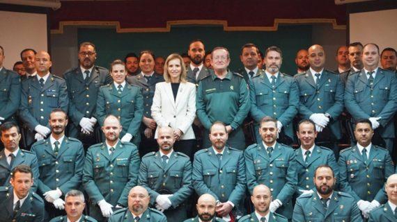 Presentados los nuevos efectivos de la Guardia Civil en Huelva