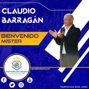 El Recre hizo oficial el fichaje de Claudio Barragán como nuevo técnico. / Foto: @recreoficial.