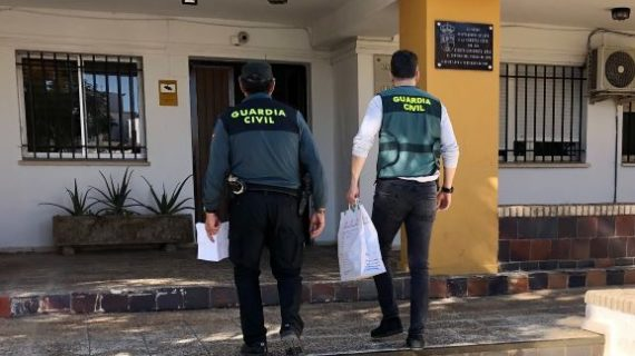 Detenidas cuatro personas por un robo cometido en una vivienda de Lepe