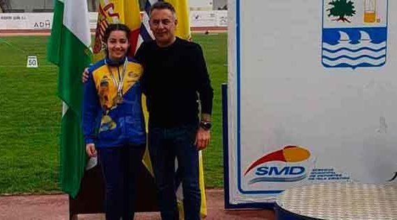 Éxito de los atletas locales en el Campeonato de Andalucía de Lanzamientos Largos celebrado en Isla Cristina