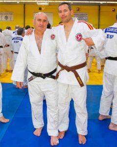 Francisco Luis Salas y Francisco Brito brillaron en la Copa de España de Veteranos de Judo.