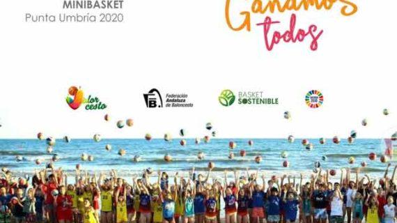 Punta Umbría acogerá la I Copa de Andalucía de Minibasket del 29 al 31 de mayo