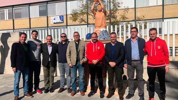 Un monumento al baloncesto para conmemorar el 25º Aniversario del CB La Palma 95