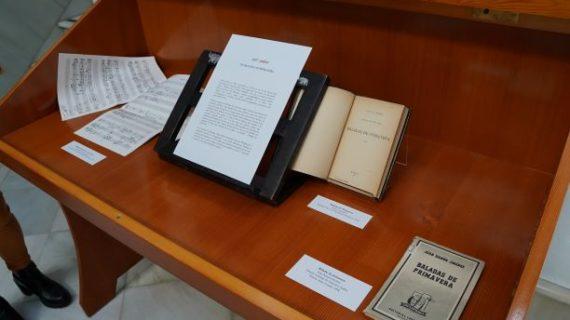 La Pieza del Mes de Febrero en Moguer está dedicada a la obra 'Baladas de Primavera'