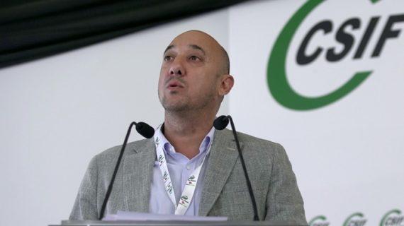 Juan Manuel Quilón, reelegido presidente de CSIF en Huelva con el96,46% de los votos