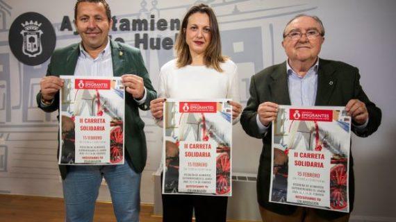 El Ayuntamiento y la Hermandad de Emigrantes aúnan  esfuerzos para la puesta en marcha de la 'II Carreta Solidaria'