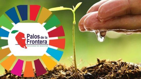 La Comunidad de Regantes Palos solicita adherirse a los Objetivos de Desarrollo Sostenible