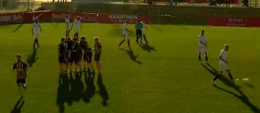 El San Roque prolonga su estado de gracia con un trabajado empate ante el Sevilla C (1-1)