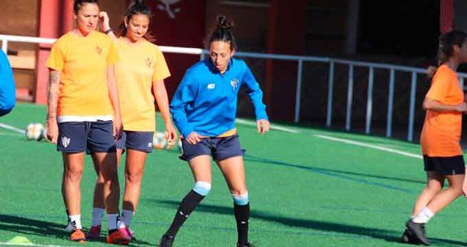 El Sporting de Hueva comenzó a preparar su partido del domingo ante el EF Logroño