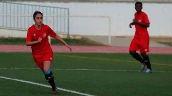 El Sporting de Huelva vence al CD Fútbol Base Bonares (1-0) en partido de preparación del doble duelo con el Barcelona