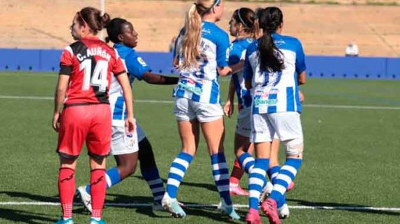 El Sporting de Huelva amarra una victoria de oro molido ante el Rayo Vallecano (1-0) en la lucha por la permanencia