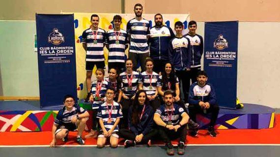 El IES La Orden conquistó un total de 15 medallas en diversos torneos durante el fin de semana
