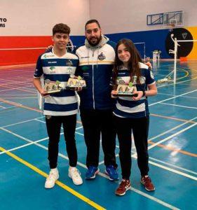 Tres medallas lograron Alejandro Pérez y Cinta del Rocío MolinaMáster en el Máster Jóvenes Sub 13 y Sub 17 en Tordesillas.