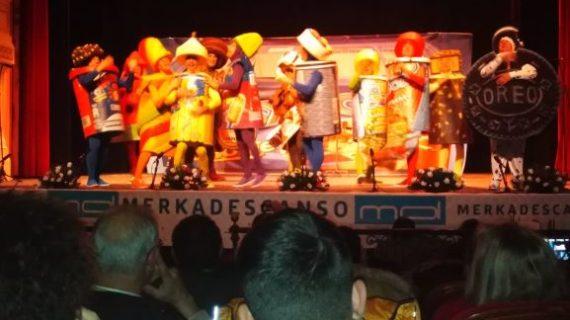 Noche con acento onubense en el Carnaval Colombino