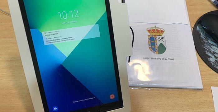 El Ayuntamiento de Alosno incorpora la firma biometricacon el objetivo de eliminar el papel