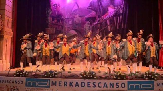 La provincia se sube a las tablas del Gran Teatro en una nueva noche del Concurso de Agrupaciones
