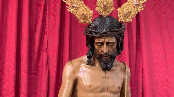 El Cristo de la Victoria ya se encuentra en la Parroquia de San Sebastián