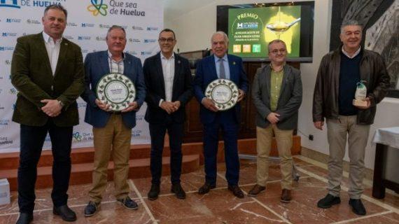 Diputación afianza su apoyo al sector olivarero onubense con la entrega de los galardones al mejor aceite de oliva virgen extra
