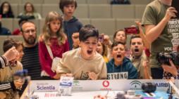 Emoción, compañerismo, esfuerzo y diversión llegan a la Universidad de Huelva con la FIRST LEGO League