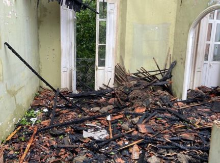 El Ayuntamiento exigirá la restitución a su estado original de todos los elementos dañados en el incendio de La Casona