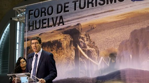 El vicepresidente de la Junta inaugura el I Foro de Turismo de Huelva y destaca la diversidad turística de la provincia