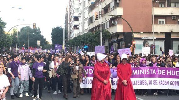 Huelva es feminista y sale a la calle a reivindicar la igualdad este 8M