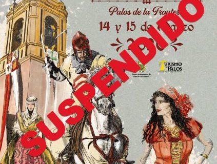 Palos de la Frontera suspende su XX Feria Medieval del Descubrimiento