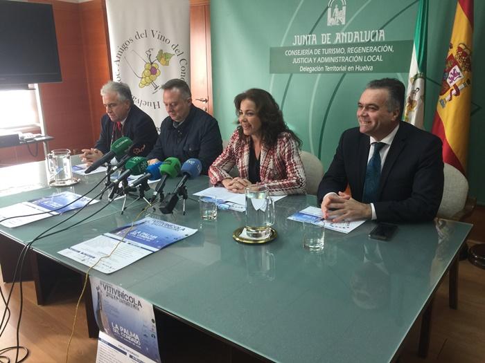 La Palma del Condado acoge el II Encuentro Vitivinícola