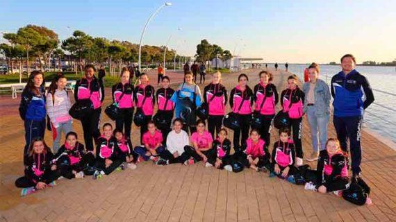 El Club Deportivo Estuaria de voleibol cierra la temporada por la pandemia y agradece el patrocinio del Puerto de Huelva