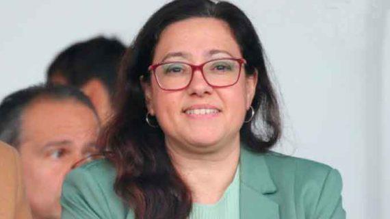"""""""Parar esta epidemia pronto"""", el deseo de la presidenta del Sporting de Huelva, Manuela Romero"""