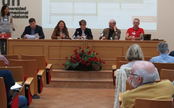 La sede de La Rábida acoge la 'Escuela de Invierno' sobre explotación minera sostenible con participantes de toda Europa