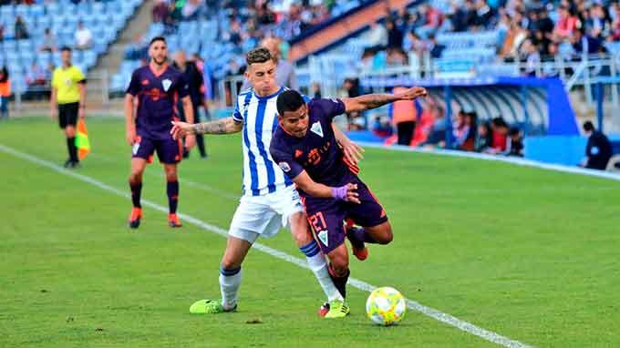 Si prospera la idea de la RFEF, el partido ante el Marbella ha sido el último del Recre en la temporada 2019-20.