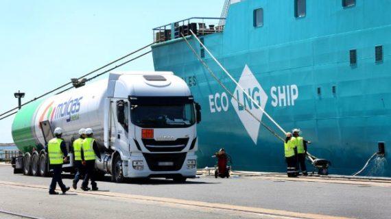 El Puerto de Huelva se consolida como referente en las operaciones de abastecimiento de GNL con 16 suministros a lo largo de 2019