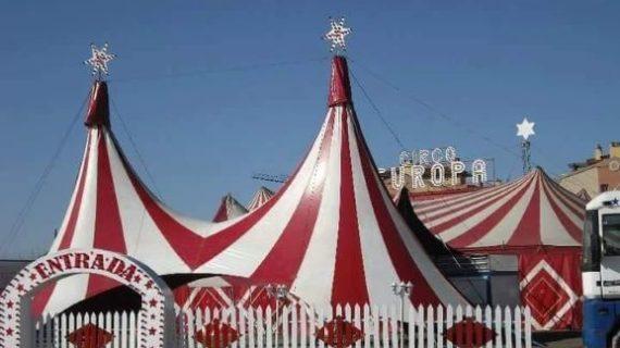 El circo atrapado en Punta Umbría ofrecerá una función gratuita para agradecer las muestras de solidaridad de los onubenses