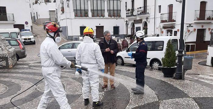 Diputación refuerza la desinfección de los municipios a través del Consorcio con una aportación de 20.000 euros