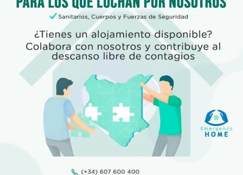 Huelva se suma a la iniciativa 'Emergency Home', que ofrece viviendas gratuitas para alojar a los sanitarios que lo necesiten