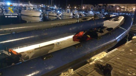 La Guardia Civil detiene a 14 personas en una operación antidroga en Isla Cristina