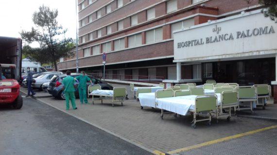 La Junta de Andalucía descarta el uso del Hospital Blanca Paloma debido a las deficiencias técnicas del edificio